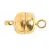 Magnetic Clasp Lid Shape 5X10mm Gold
